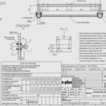Stahlbauplanung: Fertigungszeichnungen und Stücklisten